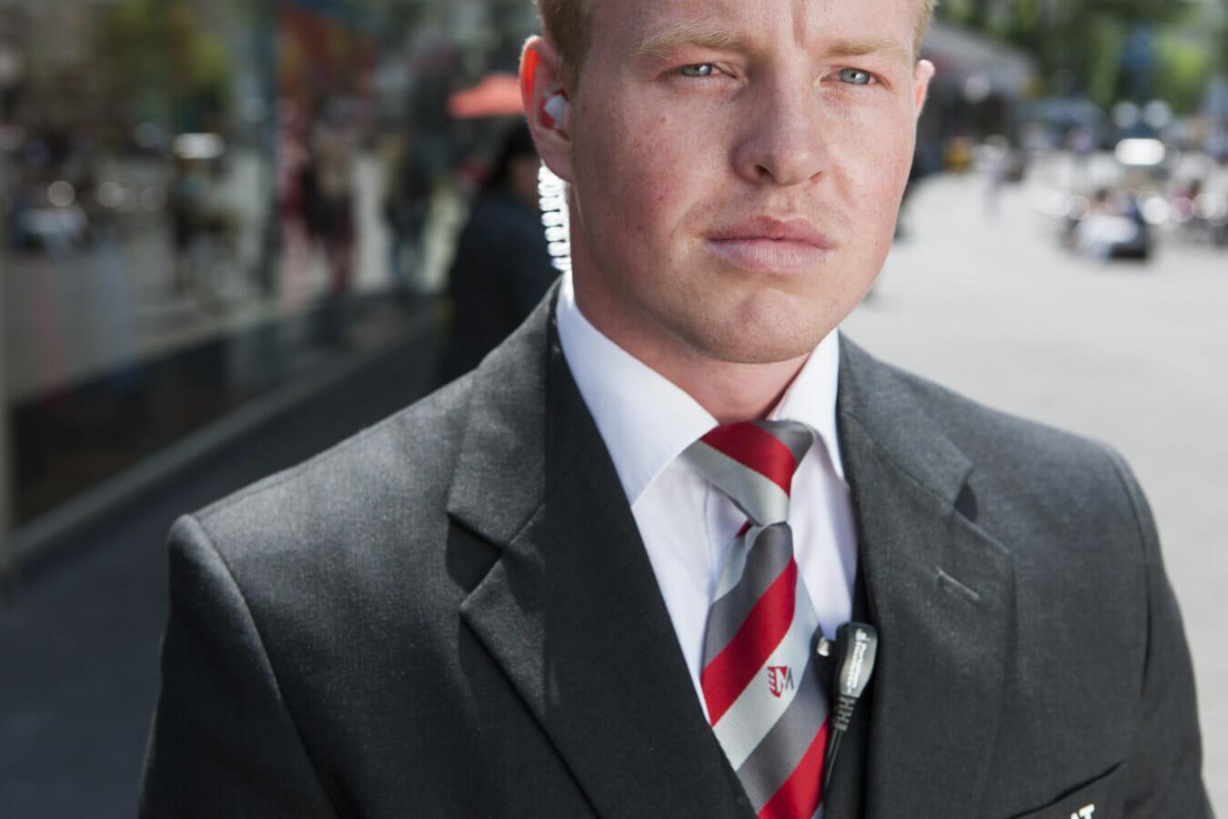 Profil eines Ladendetektivs